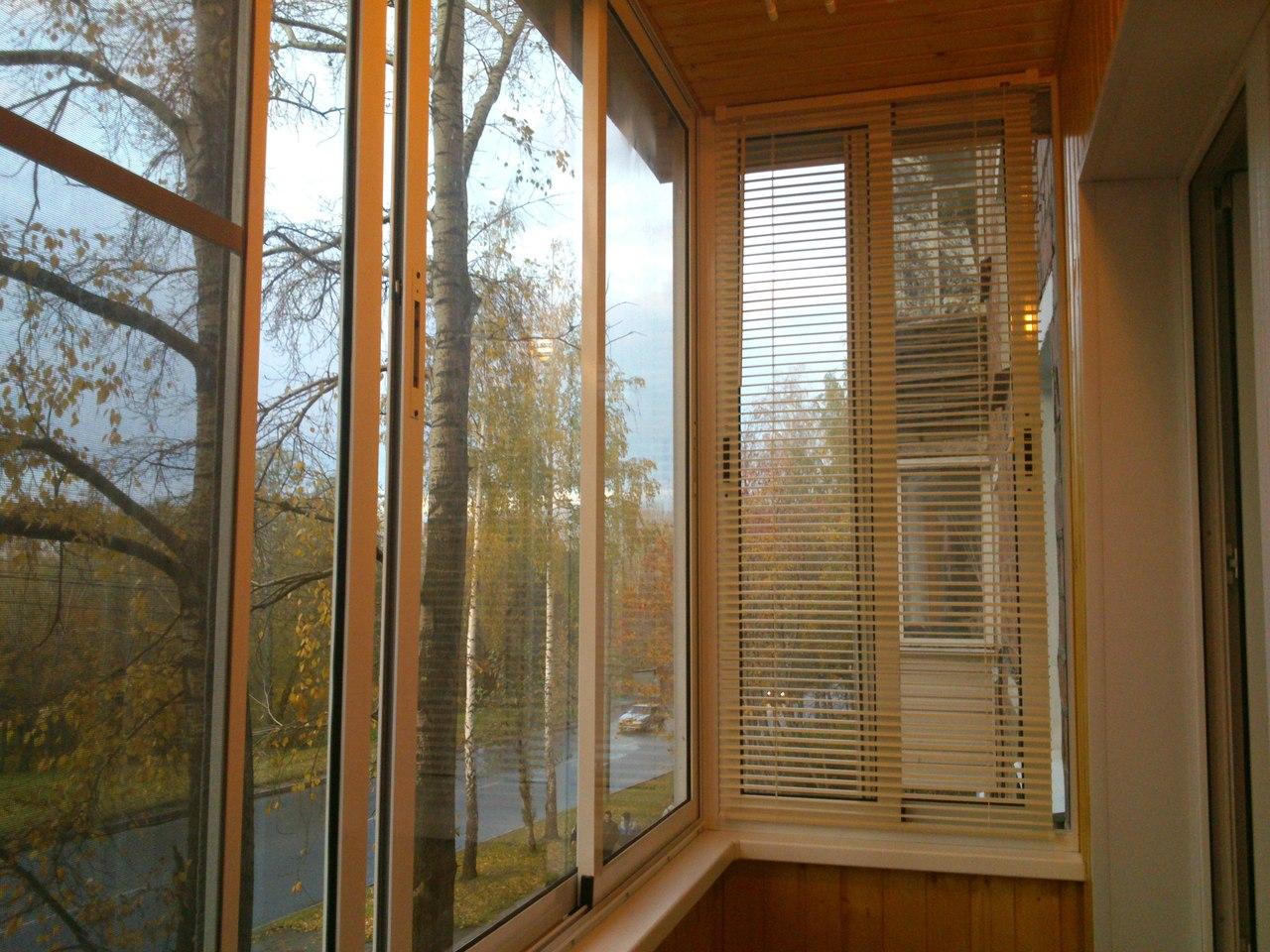 """Остекление балкона, лоджии """"под ключ"""" - строительс."""